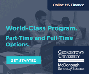 Georgetown Masters in Finance